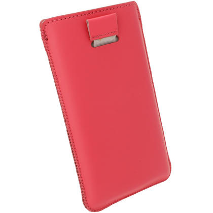 iGadgitz Pink Leather Pouch Case Cover for Nokia Lumia 920, 925 & 1020 Windows Smartphone Mobile Phone Thumbnail 4