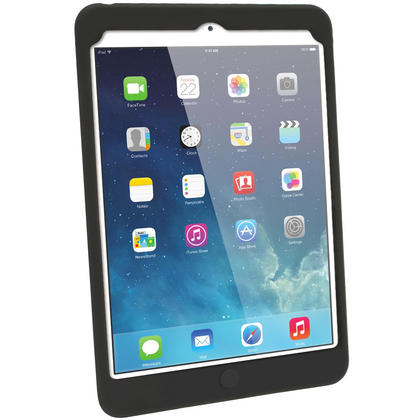 iGadgitz Black Tyre Tread Silicone Case for Apple iPad Mini 1st & 2nd Generation with Retina Display + Screen Protector Thumbnail 3