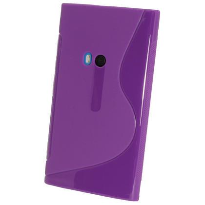 iGadgitz Dual Tone Purple Gel Case for Nokia Lumia 920 + Screen Protector Thumbnail 3
