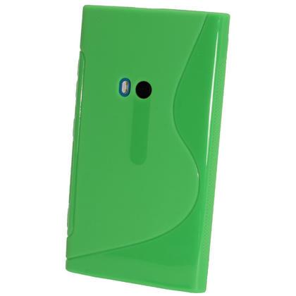 iGadgitz Dual Tone Green Gel Case for Nokia Lumia 920 + Screen Protector Thumbnail 3