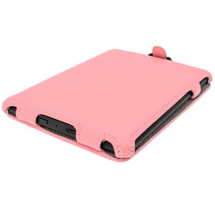 iGadgitz Pink PU 'Heat Molded' Leather Case for Amazon Kindle Paperwhite 2015 2014 2013 2012 + Sleep/Wake & Hand Strap Thumbnail 8