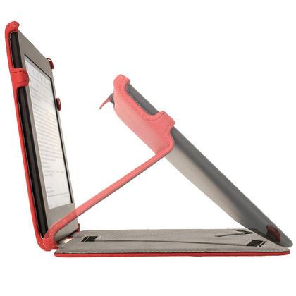 iGadgitz Red PU 'Heat Molded' Leather Case for Amazon Kindle Paperwhite 2015 2014 2013 2012 + Sleep/Wake & Hand Strap Thumbnail 6