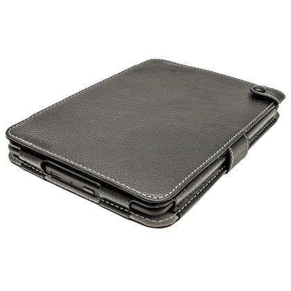 iGadgitz Black PU 'Bi-View' Leather Case for Amazon Kindle Paperwhite 2015 2014 2013 2012 With Sleep/Wake & Hand Strap Thumbnail 6