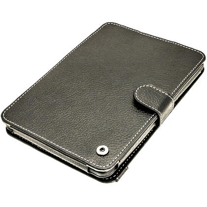 iGadgitz Black PU 'Bi-View' Leather Case for Amazon Kindle Paperwhite 2015 2014 2013 2012 With Sleep/Wake & Hand Strap Thumbnail 8