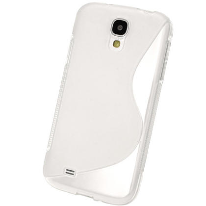 iGadgitz S Line Clear Gel Case for Samsung Galaxy S4 IV I9500 I9505 + Screen Protector Thumbnail 3