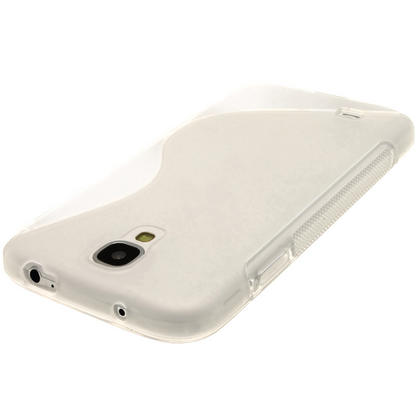 iGadgitz S Line Clear Gel Case for Samsung Galaxy S4 IV I9500 I9505 + Screen Protector Thumbnail 5