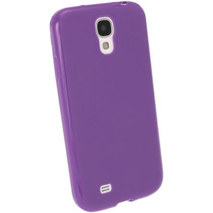 iGadgitz Purple Gel Case for Samsung Galaxy S4 IV I9500 I9505 + Screen Protector Thumbnail 3