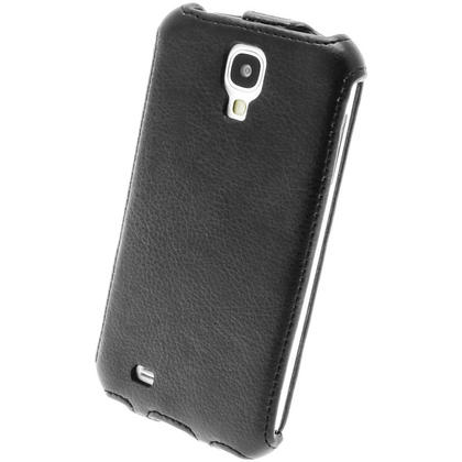 iGadgitz Black PU Leather Flip Case Cover Holder for Samsung Galaxy S4 IV I9500 I9505. With Sleep/Wake Function Thumbnail 8