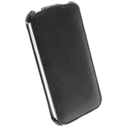 iGadgitz Black PU Leather Flip Case Cover Holder for Samsung Galaxy S4 IV I9500 I9505. With Sleep/Wake Function Thumbnail 4