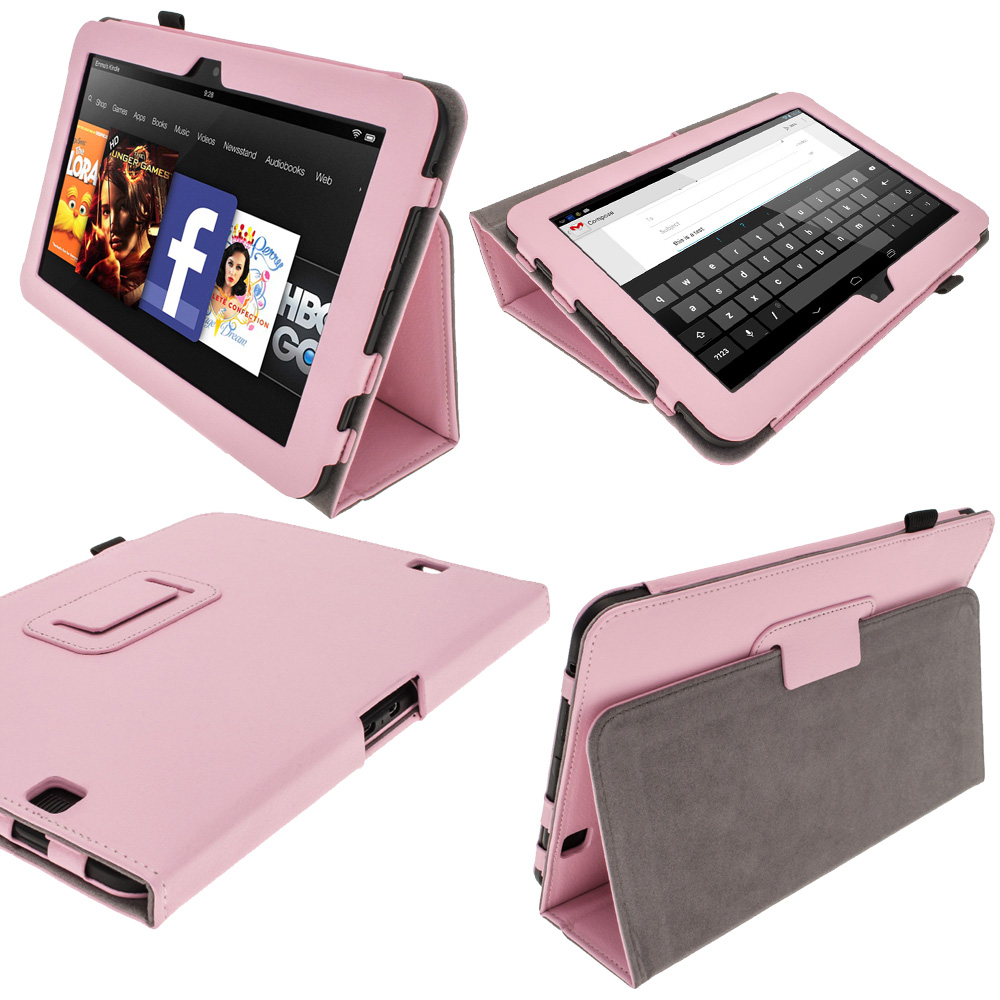 /iGadgitz Pink Portfolio PU Leather - 254.3KB