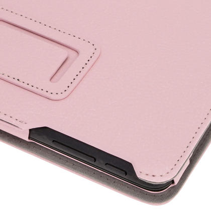 """iGadgitz Pink 'Ergo-Portfolio' PU Leather Case for Asus MeMo Pad ME172V 7"""" Tablet 16GB 32GB + Screen Protector Thumbnail 7"""