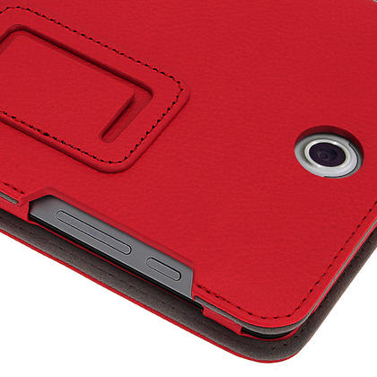 "iGadgitz Red 'Ergo-Portfolio' PU Leather Case for Asus Fonepad ME371MG 7"" Tablet 16GB 32GB + Screen Protector Thumbnail 7"