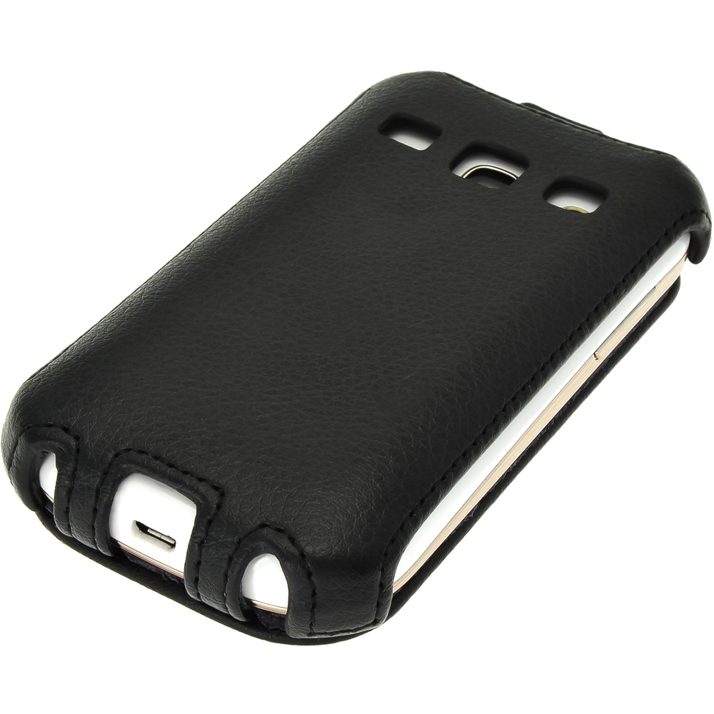 iGadgitz PU Leather Flip Case for Samsung Galaxy Fame ...