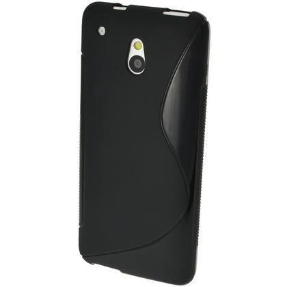 iGadgitz S Line Crystal Gel Case for HTC One Mini M4 Android Smartphone + Screen Protector (various colours) Thumbnail 4