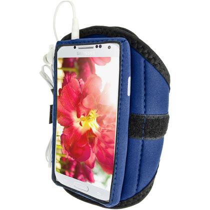 iGadgitz Neoprene Sports Armband for Samsung Galaxy S4 IV I9500 I9505 (various colours) Thumbnail 4