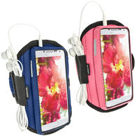 iGadgitz Neoprene Sports Armband for Samsung Galaxy S4 IV I9500 I9505 (various colours)