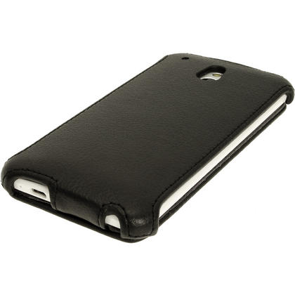iGadgitz PU Leather Flip Case for HTC One Mini M4 Android Smartphone (various colours) Thumbnail 2
