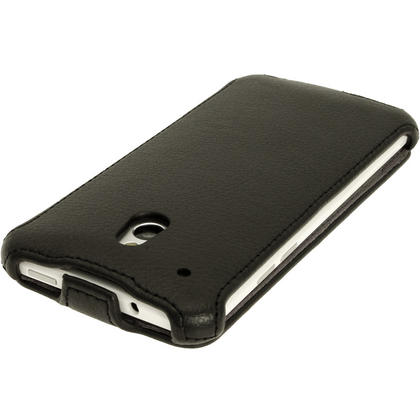 iGadgitz PU Leather Flip Case for HTC One Mini M4 Android Smartphone (various colours) Thumbnail 4