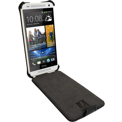 iGadgitz PU Leather Flip Case for HTC One Mini M4 Android Smartphone (various colours) Thumbnail 3