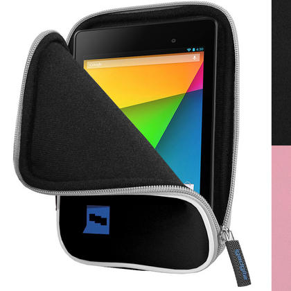 iGadgitz Neoprene Sleeve Case for New Google Nexus 7 FHD Android Tablet 2nd Gen (released Aug 2013) (various colours) Thumbnail 3