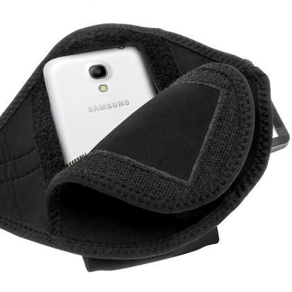 iGadgitz Black Neoprene Sports Armband for Samsung Galaxy S4 Mini GT-i9195 i9190 GT-i9195X Thumbnail 4