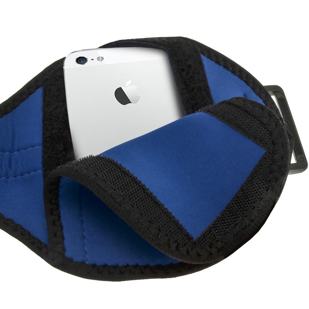 igadgitz water resistant neoprene sports armband for apple