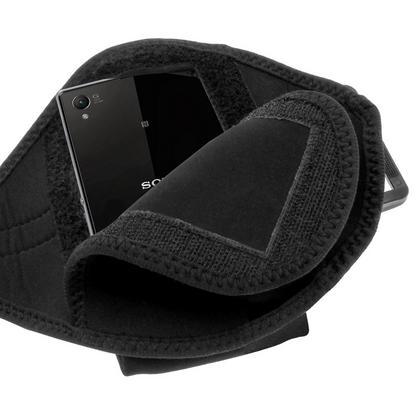 iGadgitz Black Sports Armband for Sony Xperia Z1 Honami C6902 L39H C6903 C6906 C6943 (Not suitable for Z1 F Mini) Thumbnail 4