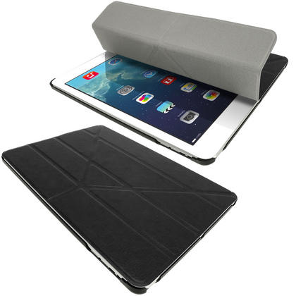 iGadgitz PU Leather Case with Hard Back for Apple iPad Air (Oct 2013) With Sleep/Wake + Screen Prot. (various colours) Thumbnail 3