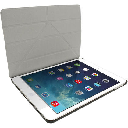 iGadgitz PU Leather Case with Hard Back for Apple iPad Air (Oct 2013) With Sleep/Wake + Screen Prot. (various colours) Thumbnail 4