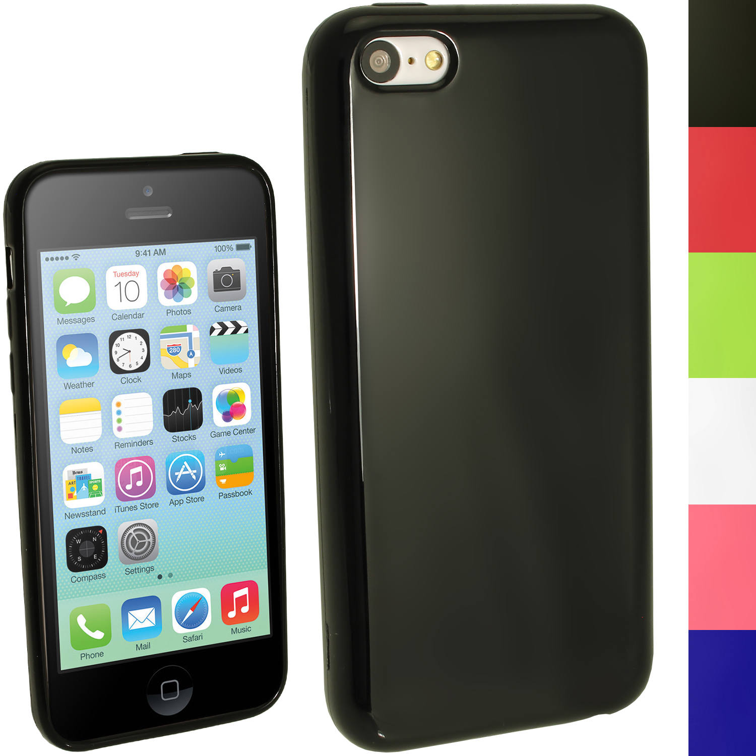 carcasa iphone 5 gel