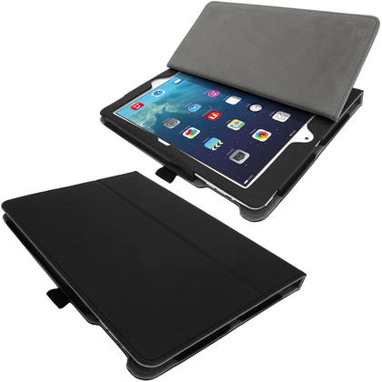 iGadgitz 'Ergo-Portfolio' PU Leather Case for Apple iPad Air Oct 2013 with Sleep/Wake + Screen Prot. (various colours) Thumbnail 3
