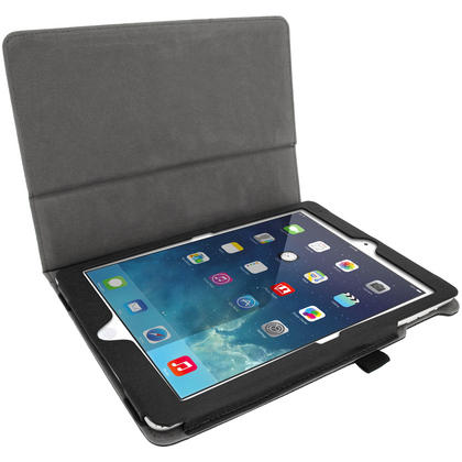 iGadgitz 'Ergo-Portfolio' PU Leather Case for Apple iPad Air Oct 2013 with Sleep/Wake + Screen Prot. (various colours) Thumbnail 4