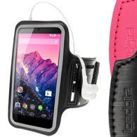 iGadgitz Reflective Anti-Slip Neoprene Sports Armband for LG Google Nexus 5 LG-D820 LG-D821 Smartphone (various colours)