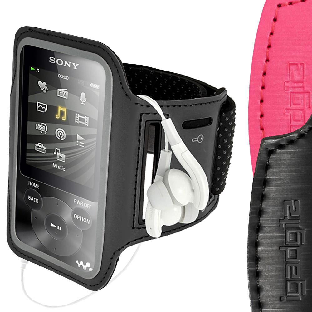 running jogging sports armband for sony walkman nwz e585 e384 case cover fitness ebay. Black Bedroom Furniture Sets. Home Design Ideas
