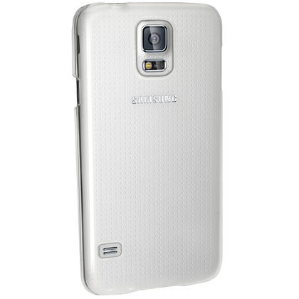 iGadgitz Clear PC Hard Case Cover Shell for Samsung Galaxy S5 SV SM-G900 + Screen Protector Thumbnail 4