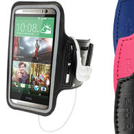 iGadgitz Anti-Slip Neoprene Sports Armband for HTC One M8 2014 Running Jogging Case Cover (various colours)