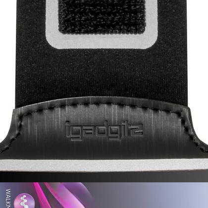 iGadgitz Anti-Slip Neoprene Sports Armband for Sony Xperia Z1 Compact D5503 Running Jog (various colours) Thumbnail 4