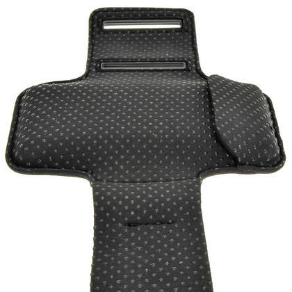 iGadgitz Reflective Anti-Slip Pink Sports Jogging Gym Armband for Sony Xperia M4 Aqua with Key Slot Thumbnail 5