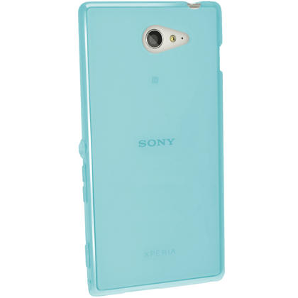 iGadgitz Glossy TPU Gel Case for Sony Xperia M2 D2303 D2305 D2306 + Screen Protector (various colours) Thumbnail 4