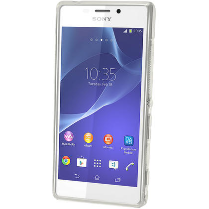 iGadgitz S-Line TPU Gel Case for Sony Xperia M2 D2303 D2305 D2306 + Screen Protector (various colours) Thumbnail 5