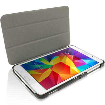 """iGadgitz PU Leather Smart Case for Samsung Galaxy Tab 4 7.0"""" SM-T230 SM-T235 + Screep Protector (various colours) Thumbnail 4"""