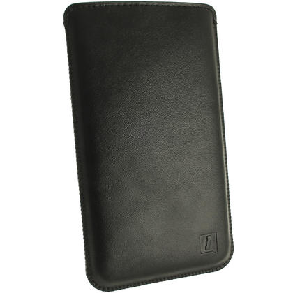 iGadgitz Leather Pouch for HTC One M8 2014 & HTC One M9 2015 with Pull Tab (various colours) Thumbnail 2