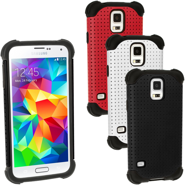 be42016e0bc Silicona Funda Carcasa & Malla para Samsung Galaxy S5 SV SM-G900 Gel ...