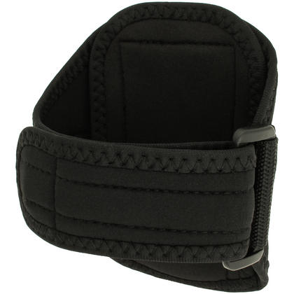 iGadgitz Black Running Jogging Sports Armband for Motorola Moto G X E Case Cover Fitness Gym Thumbnail 5