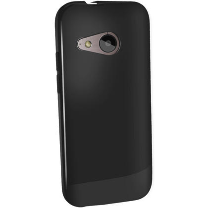 iGadgitz Glossy TPU Gel Case Cover for HTC One MINI 2 2014 + Screen Protector (various colours) Thumbnail 2
