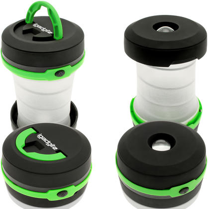 3 in 1 Pop Up LED Camping Lantern + Flashlight + Emergency Light Thumbnail 2