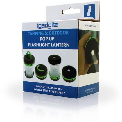 3 in 1 Pop Up LED Camping Lantern + Flashlight + Emergency Light Thumbnail 6
