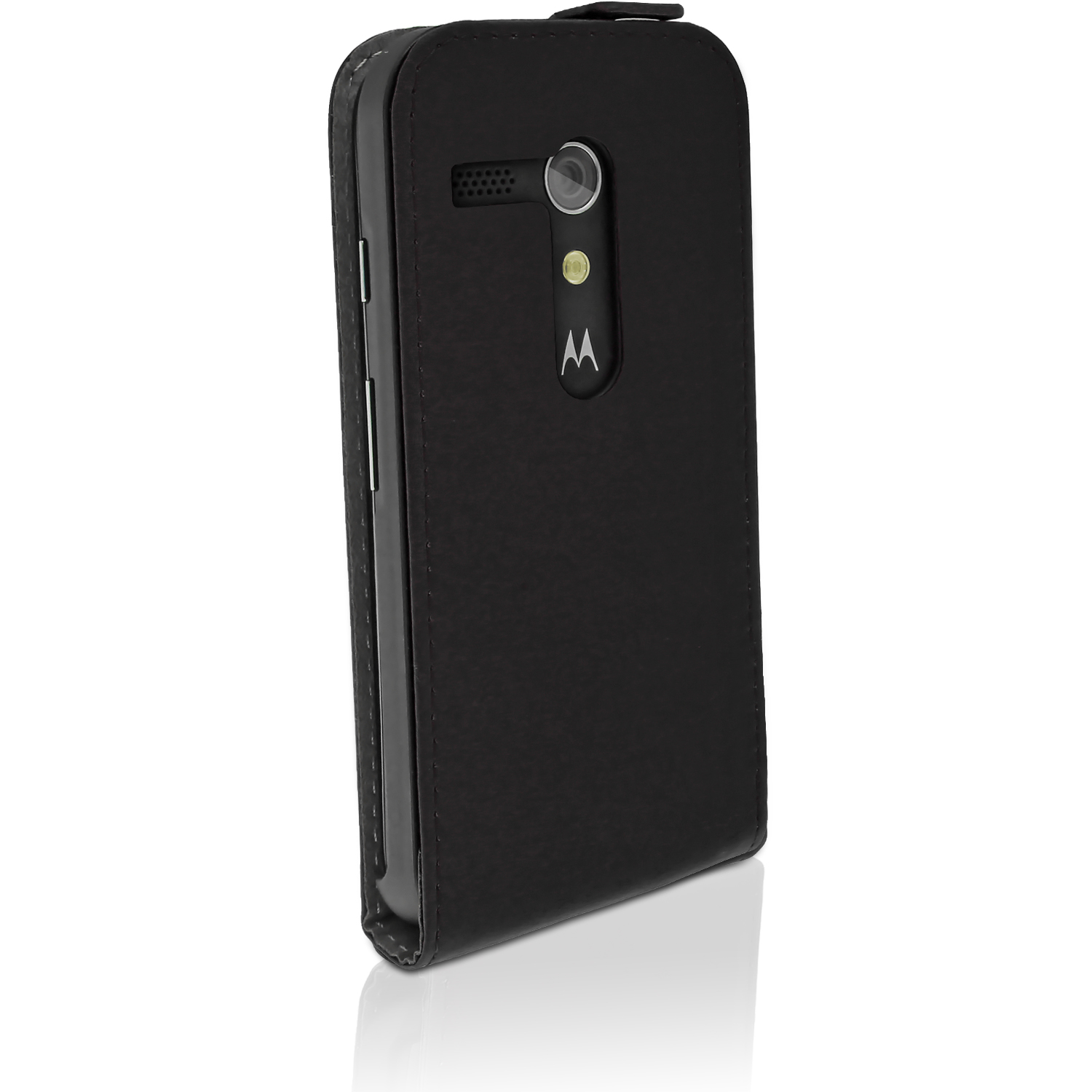 quite nice df3db bfdac Details about PU Leather Skin Flip Case for Motorola Moto G 4G 1st Gen  XT1032 Magnetic Cover