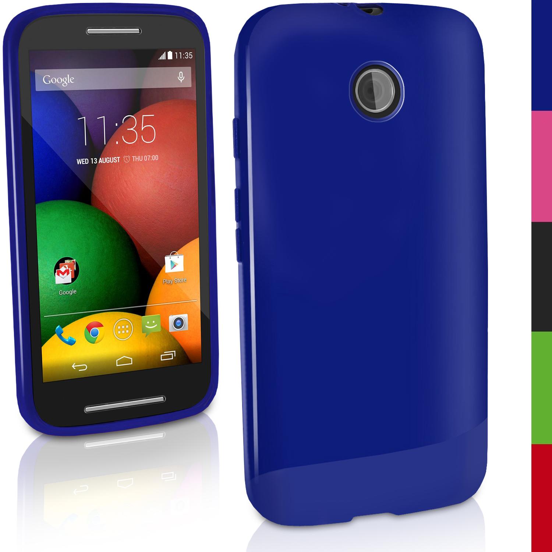 b96873f06e5 Glossy TPU Gel Skin Case for Motorola Moto E Soft Cover Bumper + ...