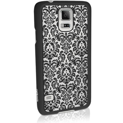 iGadgitz ?3D Designer Collection?? Pattern Hard Case for Samsung Galaxy S5 SV SM-G900 + Screen Prot. (various colours) Thumbnail 3